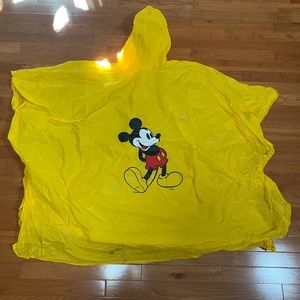 1995 Mickey Mouse Poncho from Walt Disney World